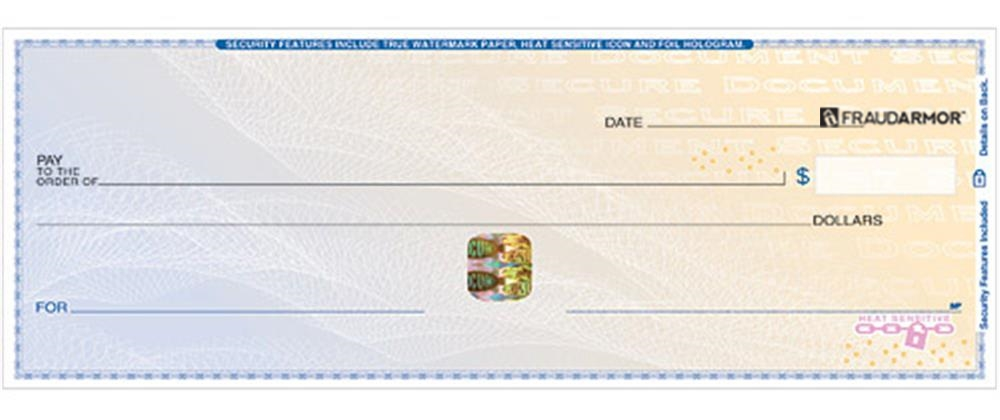 highsecurity blue business register  american bank checks