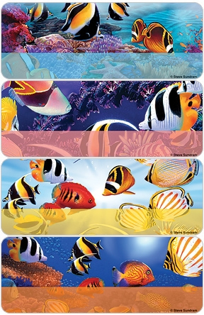 Steve Sundram Tropical Fish Address Labels