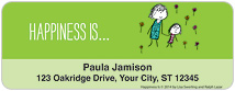 Happiness Is: Great Outdoors Address Labels