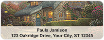 Thomas Kinkade Cottages Address Labels