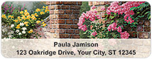 Thomas Kinkade Gardens Address Labels