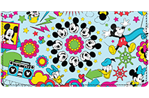Mickey & Pals Leather Cover