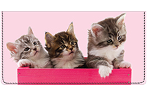 Precious Kittens Leather Cover
