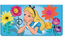 Alice in Wonderland Leather Cover