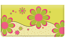 Gail Marie® Crazy Daisy Leather Cover