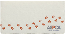 ASPCA® Canvas Checkbook Cover
