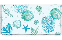 By the Sea Leather Cover