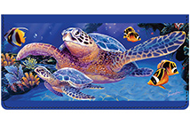 Steve Sundram Sea Turtles Leather Cover
