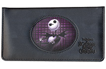 Nightmare Before Christmas Leather Cover