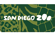 San Diego Zoo Animal Print Leather Cover