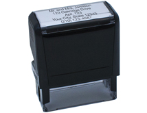 5 Line Custom Message Stamp