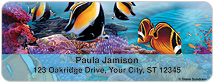 Steve Sundram Tropical Fish Address Labels Thumbnail