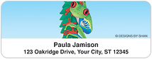 Designs by Shan™ Red-Eyed Tree Frog Address Labels
