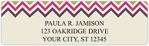 Chevron Address Labels