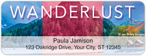 Wanderlust Address Labels