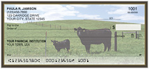 Black Angus Cows Checks